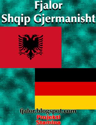 fjalor+SHQIP+gjermanisht[1]