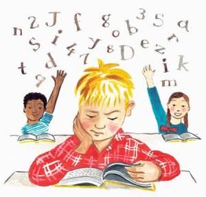 disleksia në shkollë